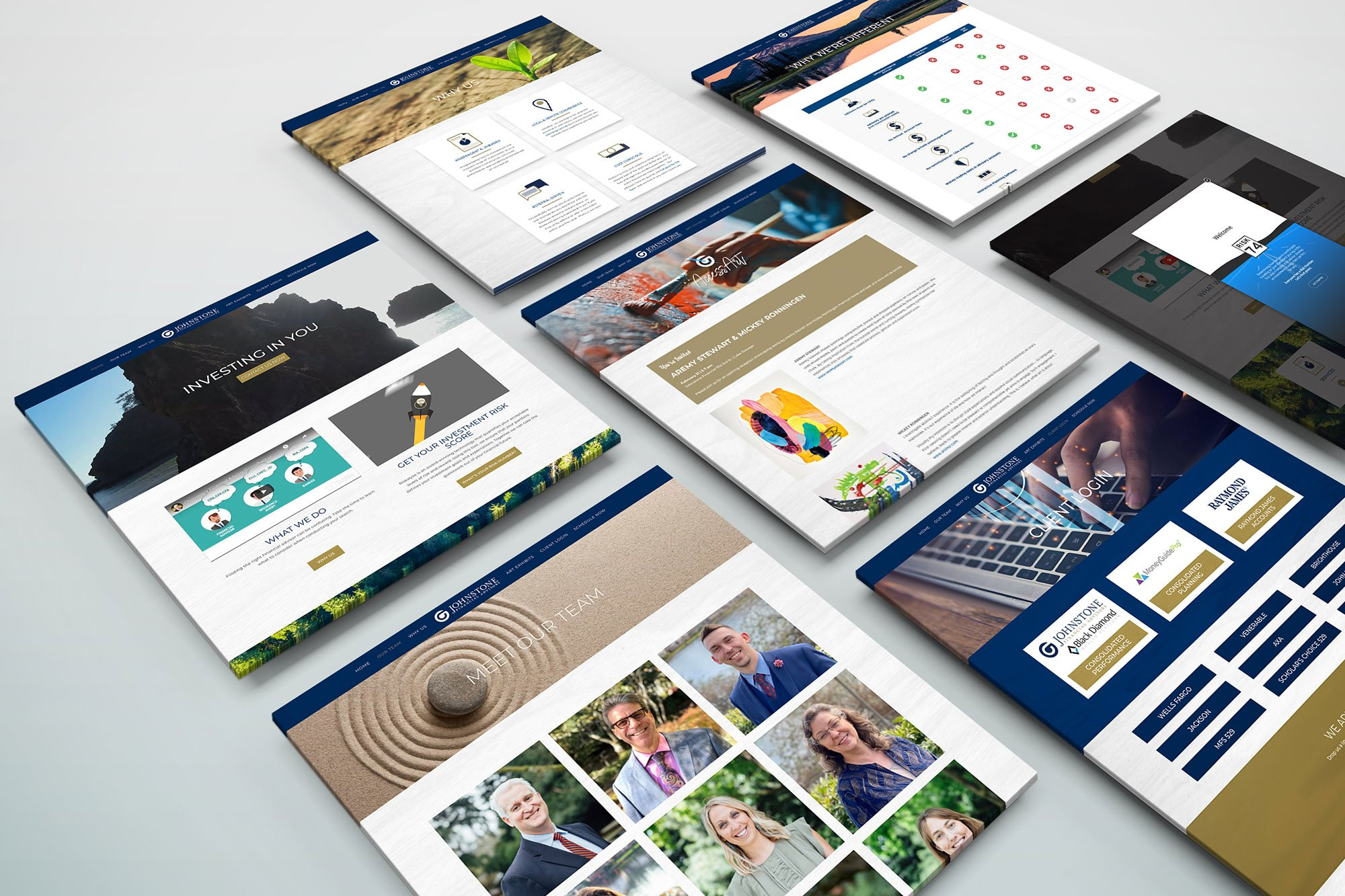 Johnstone Web Design Pages
